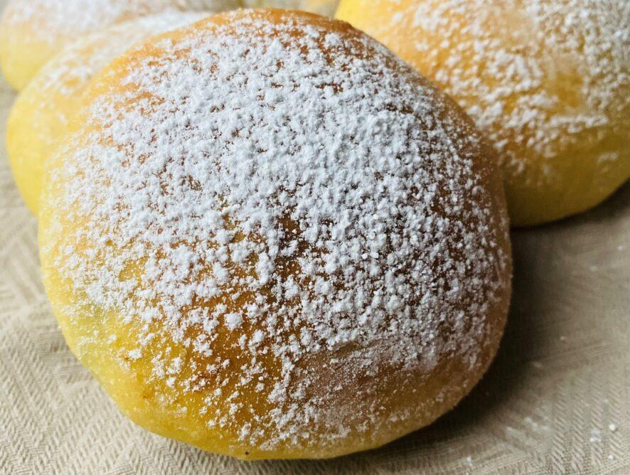 Krapfen al forno senza zucchero