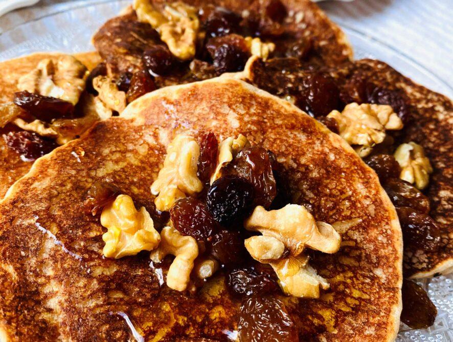 Pancakes alla cannella senza glutine