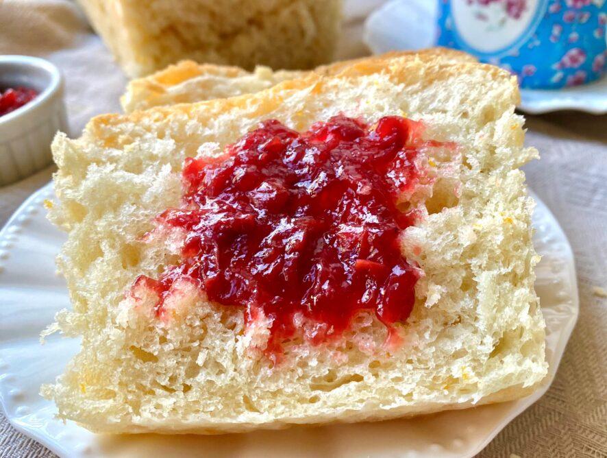Pan brioche senza burro e senza zucchero