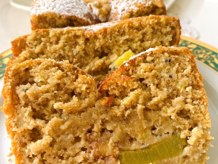 Plumcake al kiwi senza glutine
