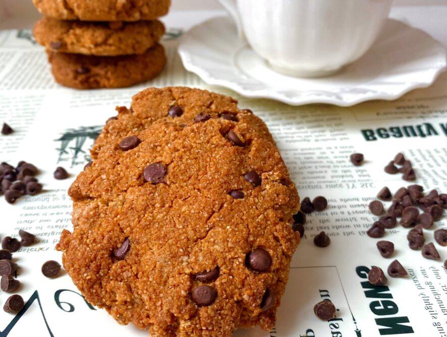 Biscotti senza glutine  e senza zucchero miele cioccolato